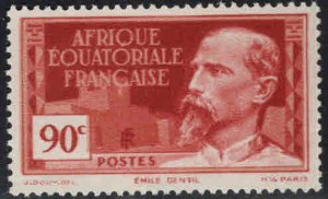 French Equatorial Africa Scott 55 MH*