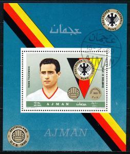 Ajman Mi367 Souvenir Sheet CTO