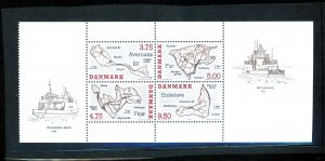 DENMARK #1025A MNT VF NH Cat $10