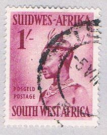 South West Africa 255 Used Woman 1954 (BP26322)