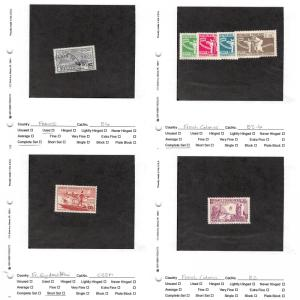 Lot of 135 France and French Colonies Mixed Condition Stamps #138819 X