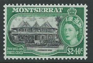 Montserrat SG 148 Mint Very Light Hinge