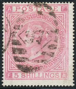 GB #57 FINE + WITH NEAT BLACK CANCEL EXTREMELY FRESH & BEAUTIFUL CV $625 BL144