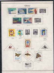 romania issues of 1960 stamps page ref 18290