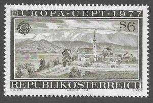 Austria # 1061  Europa  1977      (1) Mint NH