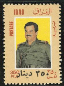 IRAQ Scott 1519 MNH** 1996 Sadam Hussein stamp CV$18