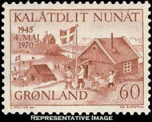 Greenland Scott 76 Mint never hinged.