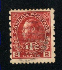 Canada #MR5    u    1916 PD
