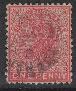 SOUTH AUSTRALIA SG176 1899 1d ROSINE USED