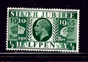 Great Britain 226 MH 1935 From KGV Silver Jubilee set