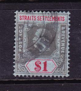 STRAITS SETTLEMENTS 1912-23  $1  KGV  FU  SG 210