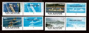 Tonga Niuafo ou # 76-79 Mint NH!