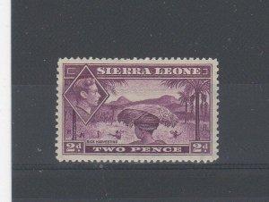Sierra Leone 1938-44 2d LMM
