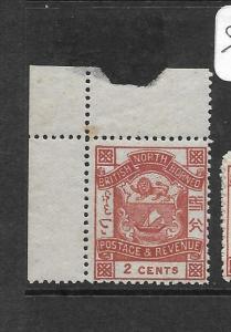 NORTH BORNEO (P3103B)  ARMS, LION 2C  SG 38B   MNH