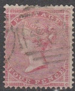 Great Britain #26 F-VF Used  CV $125.00 (S5973)
