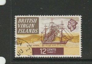 British Virgin islands 1970 Ships 12c P13.5 FU SG 249a