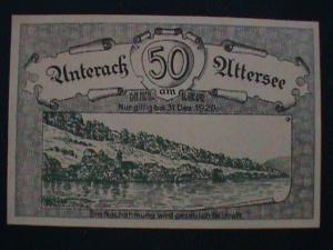 1920 GERMANY ANTIQUE UN-KNOWN SOUVENIR SHEET.#63