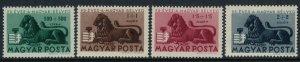 Hungary #B188-91*  CV $9.00