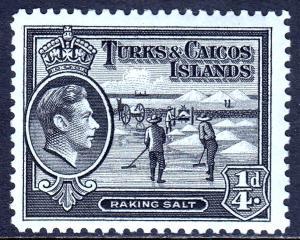 Turks and Caicos Islands - Scott #78 - MH - SCV $0.25