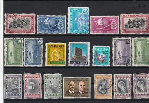 costa rica  stamps ref r12094