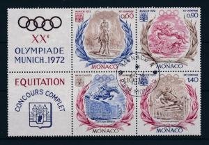 [48695] Monaco 1972 Olympic games Munich Equestrian Horse riding Used