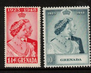Grenada #145 - #146 Mint Fine - Very Fine Lightly Hinged