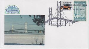2003 Michigan -Labor Day Mackinac Bridge Walk Pictorial