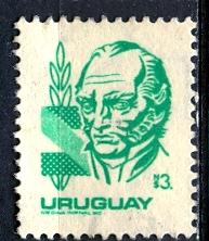 Uruguay; 1980; Sc. # 1079; O/Used Single Stamp