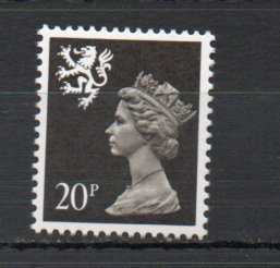 Great Britain - Scotland SMH47 MNH