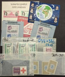 EDW1949SELL : JORDAN 5 Different S/S & Different Complete sets. All VF, Mint NH.