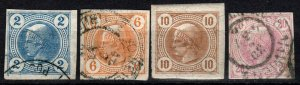 Austria #P11-4 F-VF CV $5.85 (X1060)