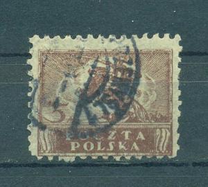 Poland sc# 108 (1) used cat value $1.50