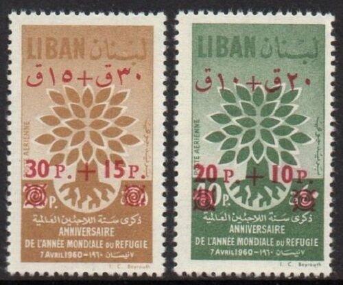 LEBANON - LIBAN MNH SC# C284b-C285b O/P
