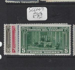 ECUADOR (P1702B)  A/M   SC C114-7   MOG