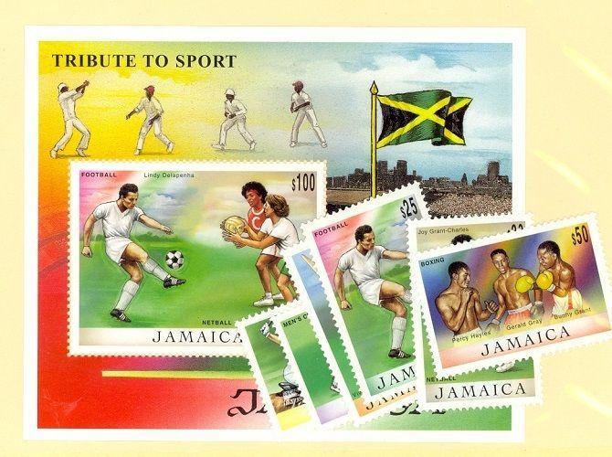 Jamaica Scott 894-900 Mint NH (Catalog Value $16.60)