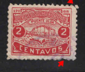 Honduras  Scott 175 Used stamp not faults nice color and centering