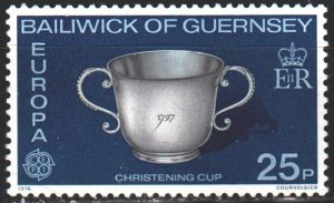 Guernsey. 1976. 134 from the series. Silver Cup, Europe-Sept. MVLH.