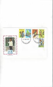 Barbados FDC International Year of the Child 1979 Official Cachet