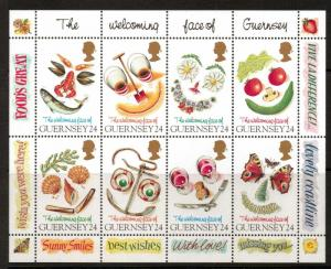 GUERNSEY SGMS671 1995 GREETINGS MNH