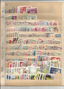 HUNGARY COLLECTION ON STOCK SHEET, MINT/USED