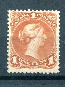 Canada #22  Mint F-VF  NH  - Lakeshore Philateics