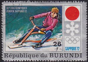 Burundi 391 XI Winter Olympic Games, Sapporo 1972