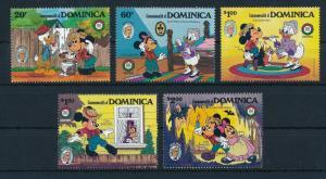 [22202] Dominica 1985 Disney 150th Birthday Mark Twain MNH