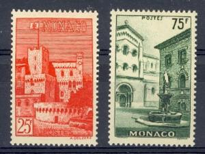 Monaco Scott 319-20 Mint hinged (Catalog Value $28.75)