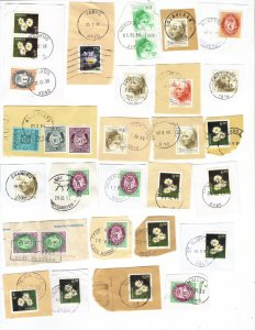 Norway – mix #2 of 1990s postmarks