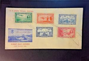 Nicaragua 1939 Airmail First Day Cover - Z776