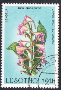 Lesotho Scott 501 Used.