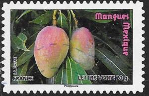 France 4195 Used - ‭Fruit - Mangoes