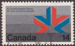 Canada 757 XI Commonwealth Games, Edmonton, Alberta 1978
