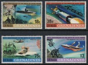 Grenada-Grenadines #323-6* NH  CV $4.05 Jules Verne set